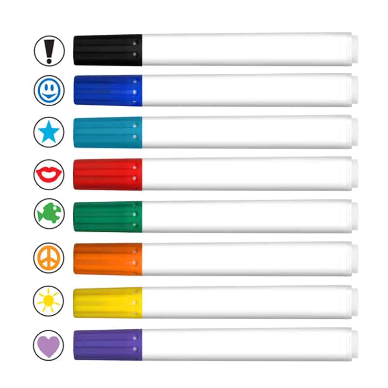 *Stamperoos - Washable Ink Stamping Markers -Full Color Decal-