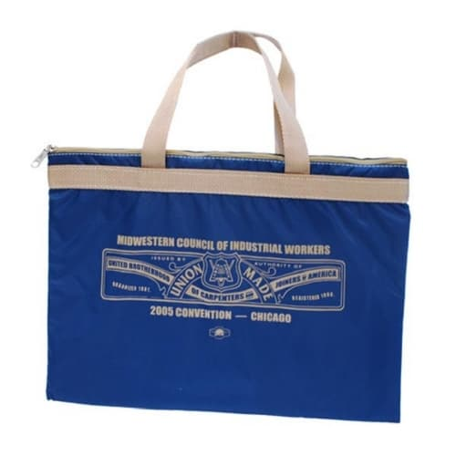 Portfolio Bag with double handles & support web