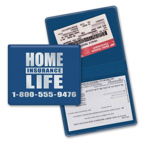 "License and Insurance Card Holder (7 1/2""x 4 1/2"")"