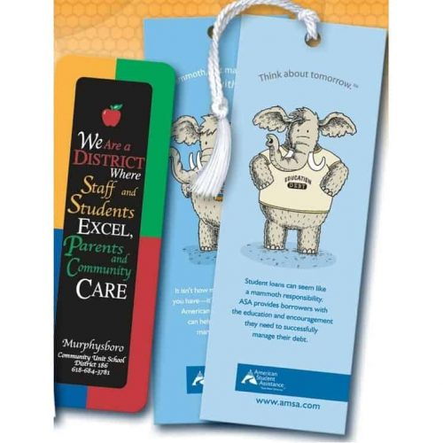 """Bookmarks Printed 2-Sides (1 3/4""""x 5 1/2"""")"""