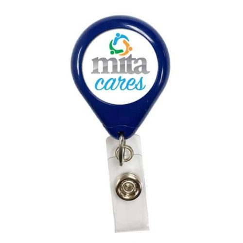 Premium Tear Drop Badge Reel