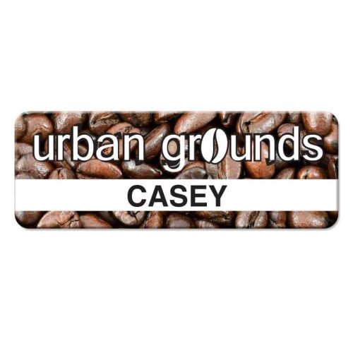 """Personalized Full Color Name Badge (1"""" x 2.75"""")"""