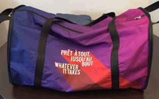Custom Made Collapsible Compact Gym Bags
