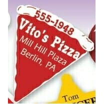 Full Color Pizza Shaped Magnetic Note-Holder