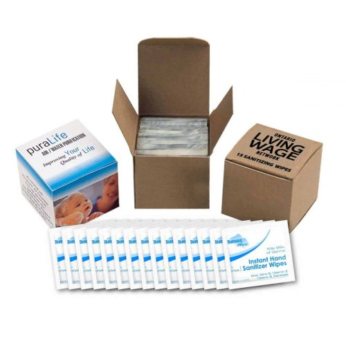 Hand Sanitizer Wipes – 15 pack
