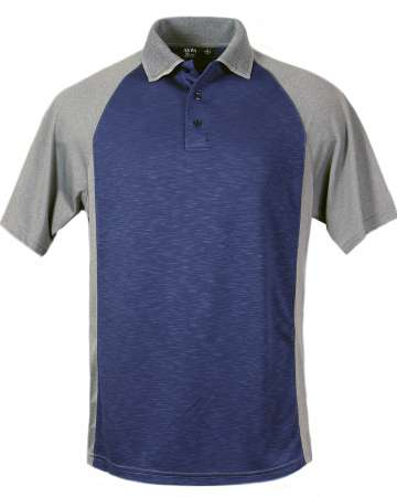 1362-SPK Men's Raglan Polo