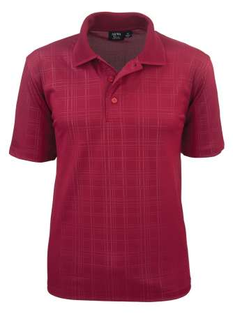 1364-EMB Embossed Men's Polo