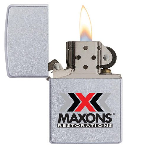 SATIN CHROME ZIPPO® WINDPROOF LIGHTER