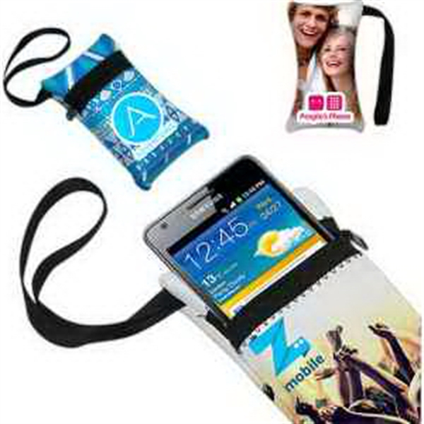 Cell Phone Case (with Zipper and Wrist Fob)