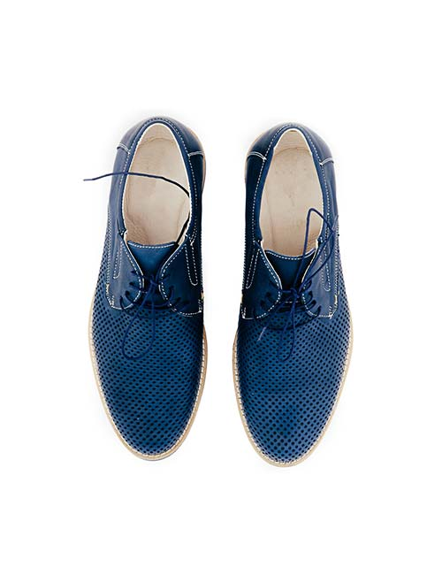Blue Glamor Shoes