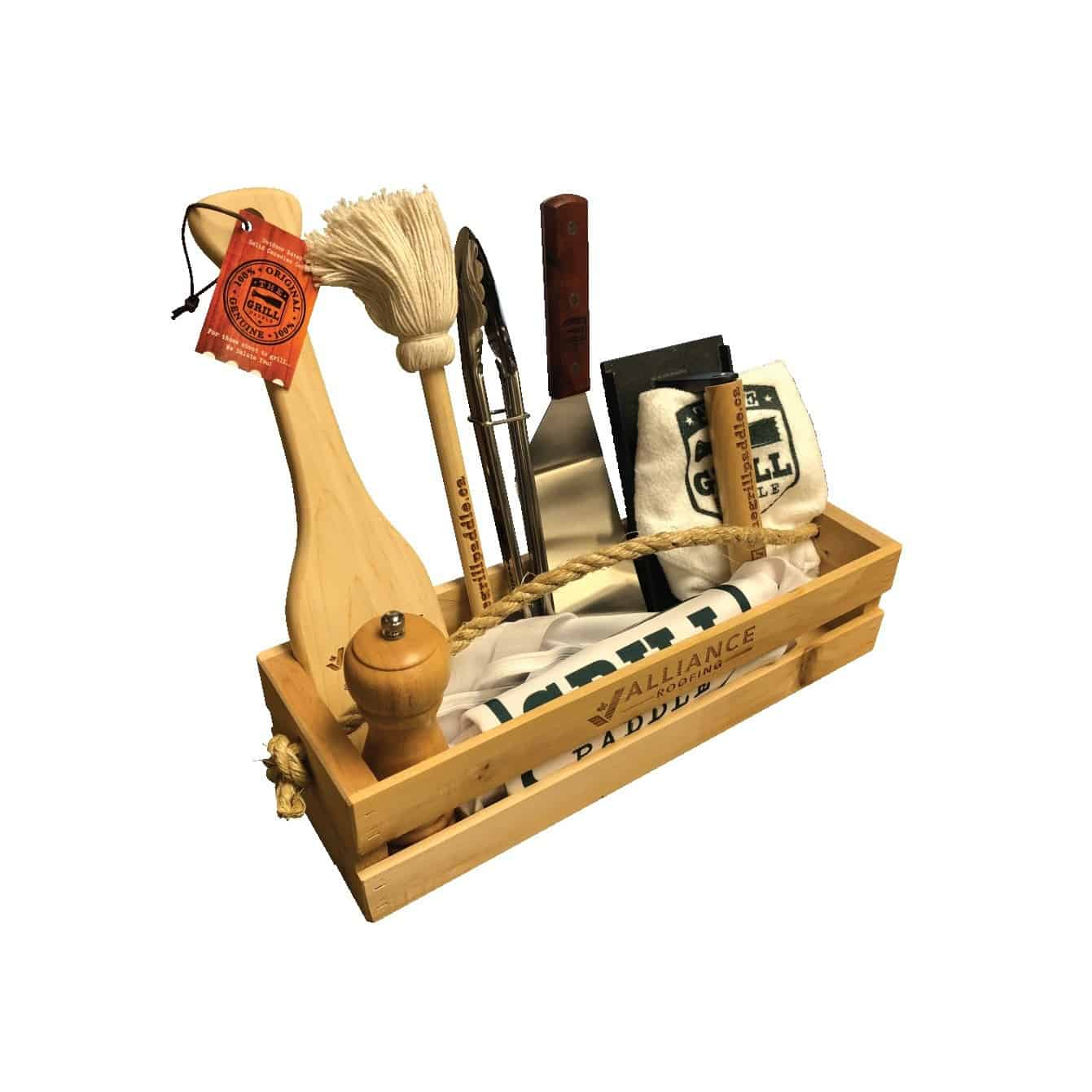 Grill Gear Crate - The Grill Master